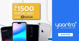 Yaantra Mobikwik Offer : Get Upto Rs.1500 Supercash When Paying Via Mobikwik