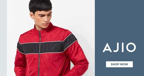 b937f6dfe Special Offer - Ajio Sale : Men's Jackets & Coats Upto 70% OFF