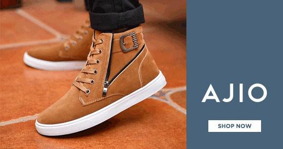 93aff42842e Special Offer - Ajio Best Price : Men's Footwear Under Rs. 1499