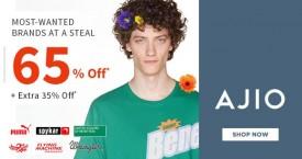 Ajio Sale on New Arrivals : Upto 40% OFF (Tshirts, Shirts etc.)