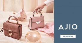 Ajio Hot Deal : Upto 60% OFF on Women's Bags, Belts & Wallets