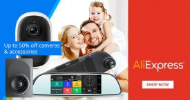 Aliexpress Aliexpress Offer : Upto 50% OFF on Cameras & Accessories