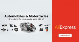 Aliexpress Special Offer : Upto 40% Off on Automobiles & Motorcycles Parts