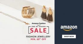Amazon Min 60% OFF on Fashion Jewellery