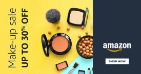 Amazon Upto 30% OFF on Make - Up Sale