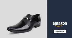 Amazon Amazon Offers on Shoes: Men's Formal Shoes Upto 60% OFF