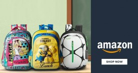 Amazon Upto 70% OFF on School Bags