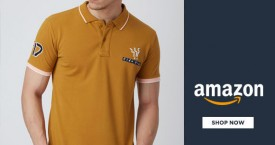 Amazon Best Deal : Men's T-Shirts & Polos Under  Rs. 399