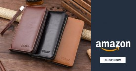 Amazon Great Deal : Men's Wallet Starting From Rs. 102