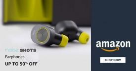 Amazon Amazon Offer : Noise Shot EarPhones Upto 50% Off