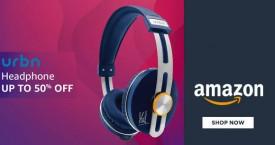 Amazon Amazon Deal : Upto 50% Off on Urbn Headphones
