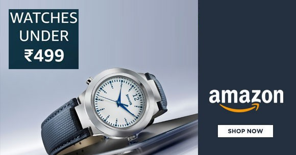 Hot Sale : Watches Under Rs. 499