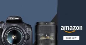 Amazon Great Offer : Digital SLRs Camera Upto 40% Off