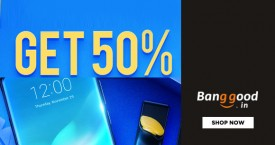 Banggood PayPal Offer : Pay With PayPal Get 50% Cash Back