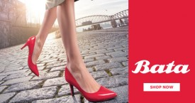 Bata Bata Offer : Get 25% OFF on Women's High Heels Sandals