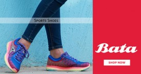 Bata Bata Sale : Upto 11% OFF on Sports Shoes