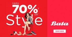 Bata Footwear Sale - Upto 70% OFF