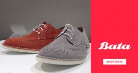 Bata Flat 20% Off on New Arrivals on Min. Purchase of Rs. 1499 & above