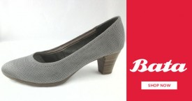 Bata Pumps Deals : Upto 70% OFF on Wedges, Heels, Peeptoes. Don't Miss!
