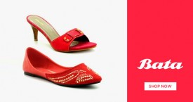 Bata Flat 30% Off on Women Sandals on Min. Purchase of Rs. 1699 & above