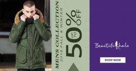 Beautifulhalo Hot Deal : Men's 2018 Fall And Winter Collection Upto 50% OFF