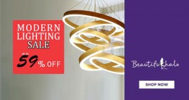 Beautifulhalo Best Price : Modern Lightings At Upto 59% OFF