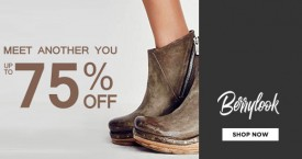 Berry Hot Deal : Footwear Upto 80% OFF From Berry Look