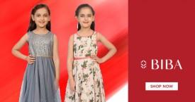 Biba Lowest Prices on Girls Dresses : Upto 60% OFF for Full & Half Sleeve