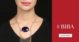 Biba BIBA Special Sale on Women Golden Necklaces & Set - Upto 40% OFF