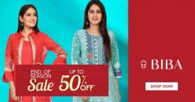 Biba New Arrivals Deals: Upto 50% OFF on Dresses, Anarkali, Salwar for Women's