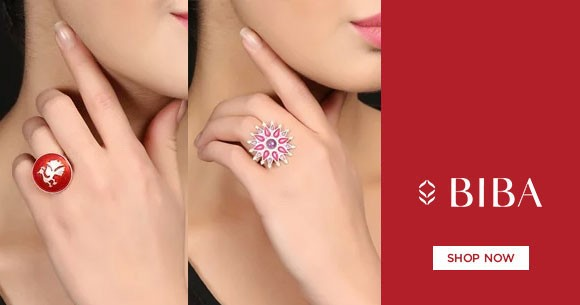 Jewellery Sale : Upto 75% OFF on Silver Rings For Women's