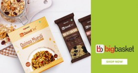 Bigbasket Best Price : Nutritional Bites & Breakfast Cereals Upto 23% OFF