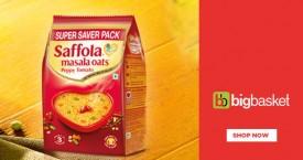 Bigbasket Upto 24% OFF on Saffola Oats