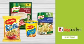 Bigbasket Special Offer : Upto 25% OFF on Soups, Noodles & Pasta