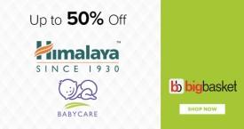 Bigbasket Special Offer : Himalaya Baby Care Upto 50% Off