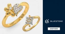 Bluestone Amazing Offer : Diamond Rings Starting From Rs. 7,400