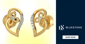 Bluestone Hot Deal : Gold Earrings Starting From Rs. 3,300 At Bluestone