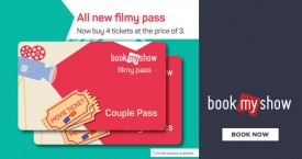 Bookmyshow Filmy Pass Offer : Now Buy 4 Tickets At Price Of 3 Tickets