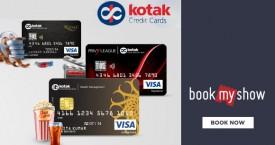 Bookmyshow Kotak Bank Offer : Get 25% OFF With Kotak Signature Credit Cards