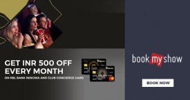 Bookmyshow RBL Bank Offer Rs. 500 OFF