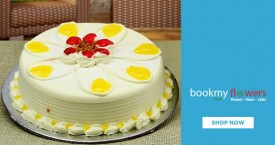 Bookmyflower Big Discounts on Eggless Cakes - Just Rs. 499+ Only