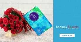 Bookmyflower Offers on Flowers and Chocolates Combo Starting From Rs. 549 for Gifts