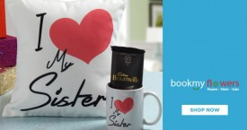 Bookmyflower Gift for Sister with Love : Gifts Available from Rs. 240 (Chocolates, Mugs, Wallets)