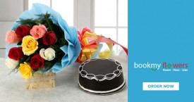 Bookmyflower Flowers With Cake Starts From Rs. 1040