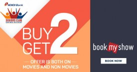 Bookmyshow ICICI Seniors Club Offer: Buy 2 Get 2 on Movies And Non Movies