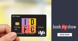 Bookmyshow IDFC Bank Offer: Get Upto Rs. 250 Cashback Every Month