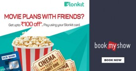 Bookmyshow Slonkit Movie Time Offer
