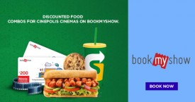 Bookmyshow Discounted Food Combos For Cinepolis Cinemas On BookMyShow.