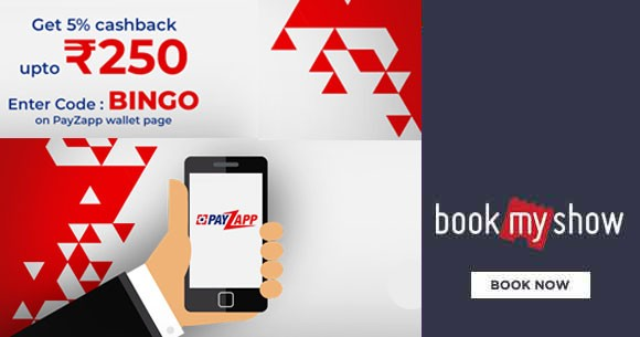 PayZapp Wallet Offer : Get 5% Cashback Upto Rs. 250. Once per Month per user