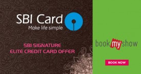 Bookmyshow Get 2 Complimentary* Movie Tickets Every Month With SBI Elite